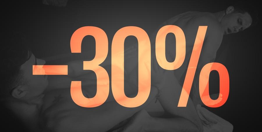 30% Rabatt!