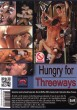 Hungry For Threeways DVD - Back