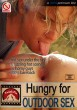 Hungry for Outdoor Sex DVD - Front