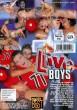 Live Boys DVD - Back