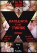 Bareback That Twink DVD - Front