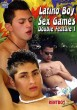 Latino Boy Sex Games Double Feature 1 DVD - Front
