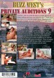 Buzz West's Private Auditions 9 DVD - Back