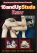 18andUpStuds Raw DVD - Front