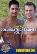 Collegiate Creampies volume 2 DVD - Front
