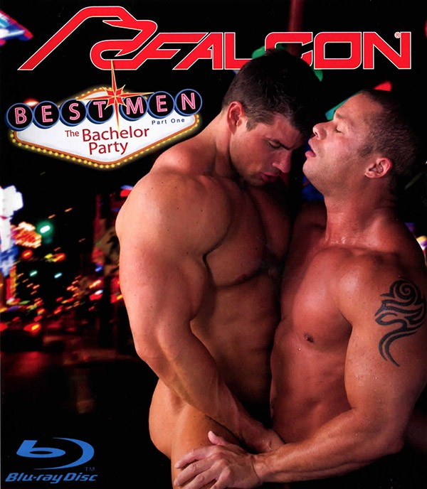 Best Men part 1: The Bachelor Party BLU-RAY - Front