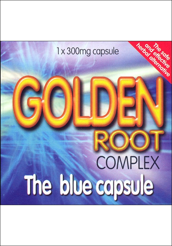 Golden Root Complex Herbal Stimulant - Back