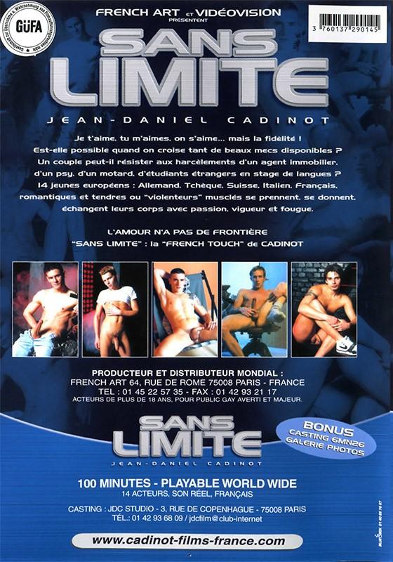 Sans Limite DVD - Back