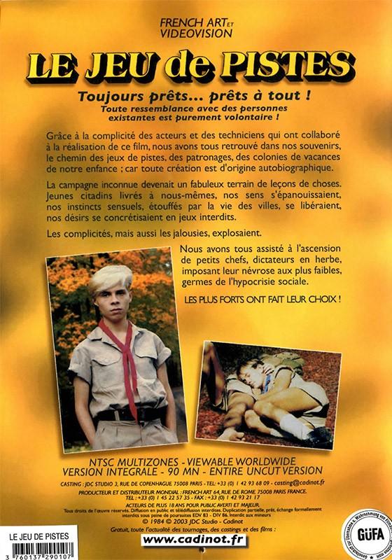Le Jeu De Pistes DVD - Back