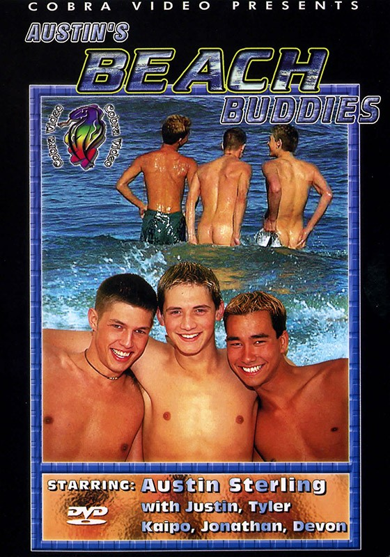 Austin's Beach Buddies DVD - Front