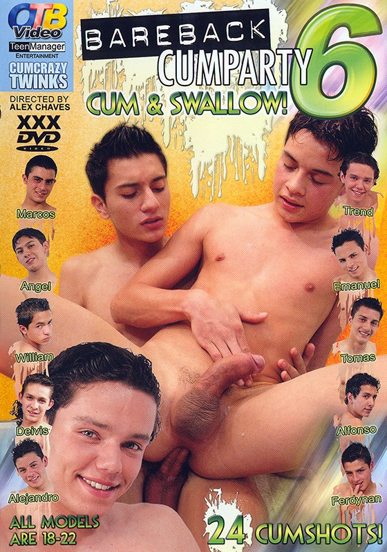 Bareback Cumparty 6 DOWNLOAD - Front