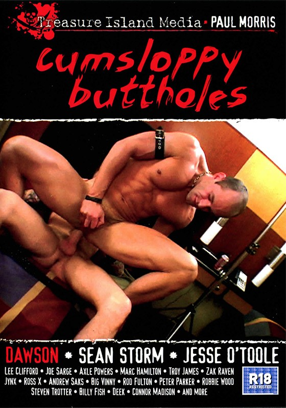 Cumsloppy Buttholes DVD - Front