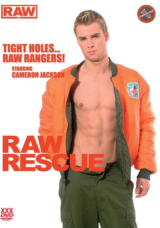 Raw Rescue DVD - Front