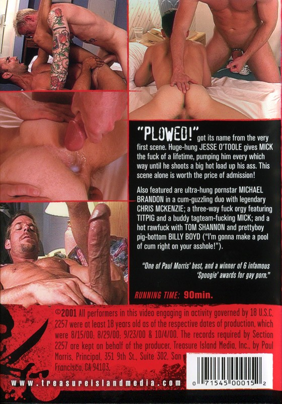 Plowed DVD - Back