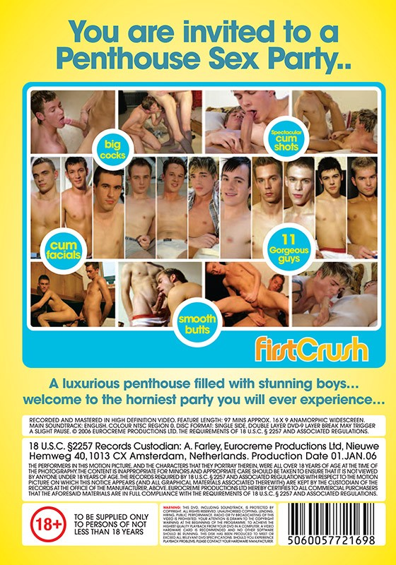 Penthouse Sex Party DVD - Back