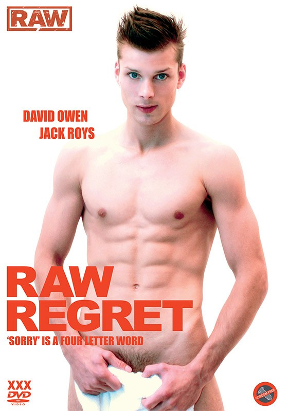Raw Regret DVD - Front