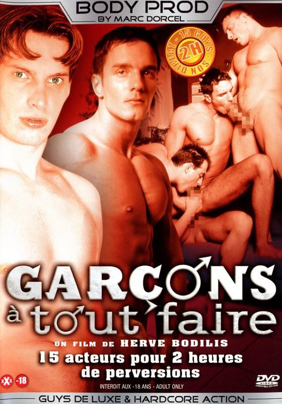 Garçons à Tout Faire DVD - Front