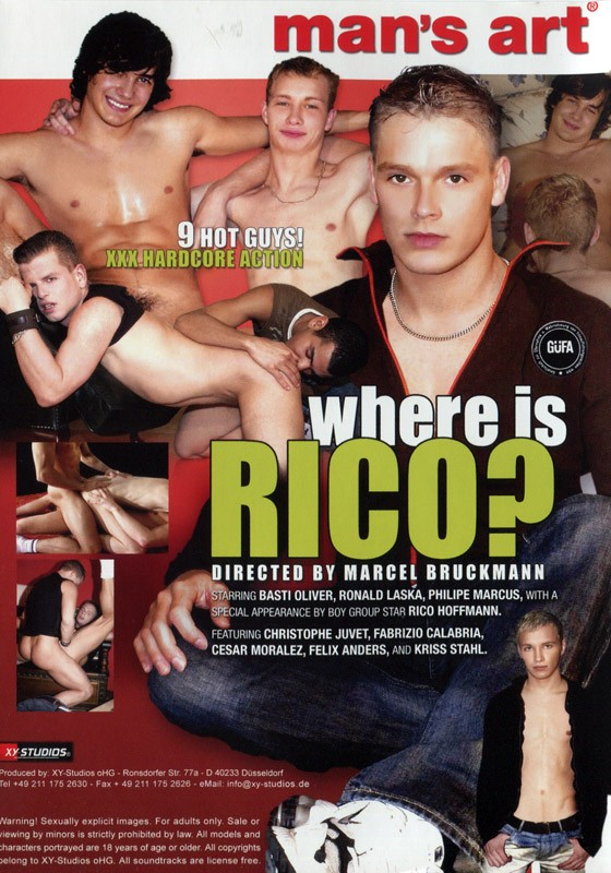 Where is Rico? DVD - Back