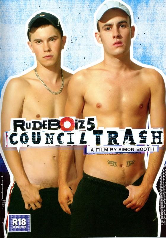 Rudeboiz 5: Council Trash DVD - Front
