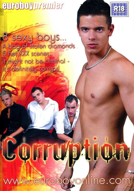 Corruption DVD - Front