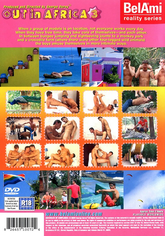 Out in Africa 3 DVD - Back
