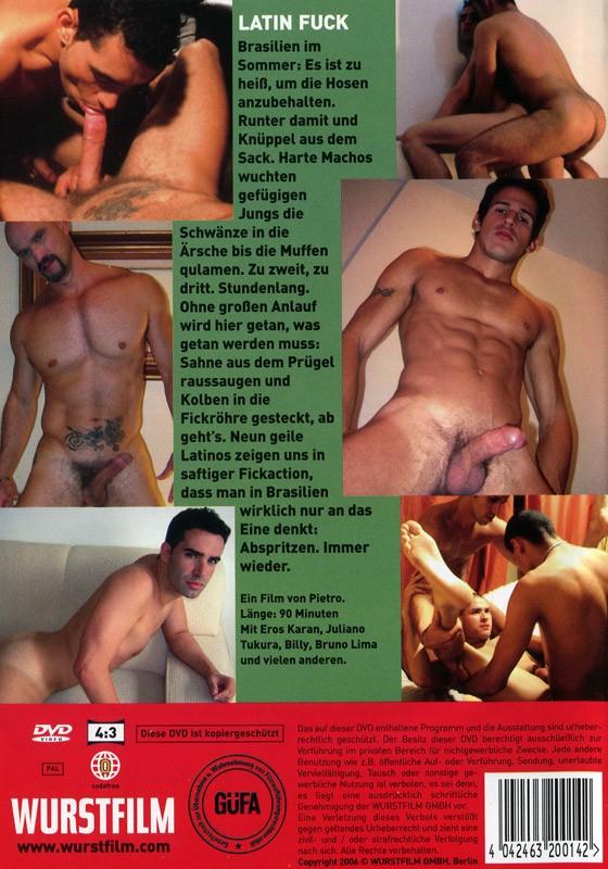 Latin Fuck DVD - Back
