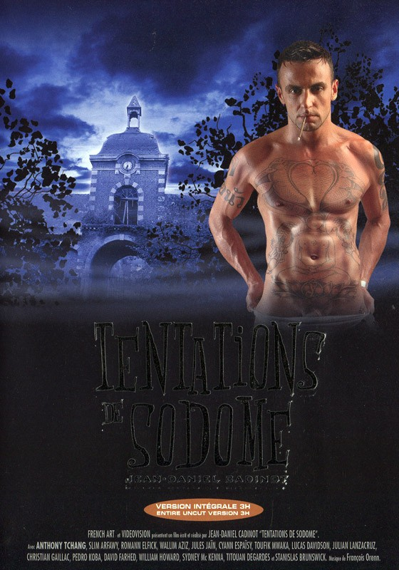 Tentations de Sodome DVD - Front