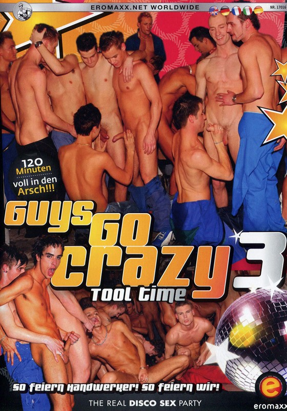 Guys Go Crazy 3: Tool Time DVD - Front