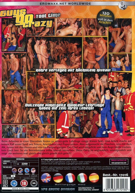 Guys Go Crazy 3: Tool Time DVD - Back