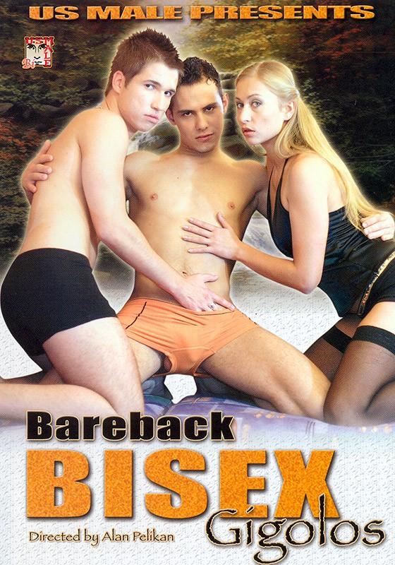Bareback Bisex Gigolos DVD - Front