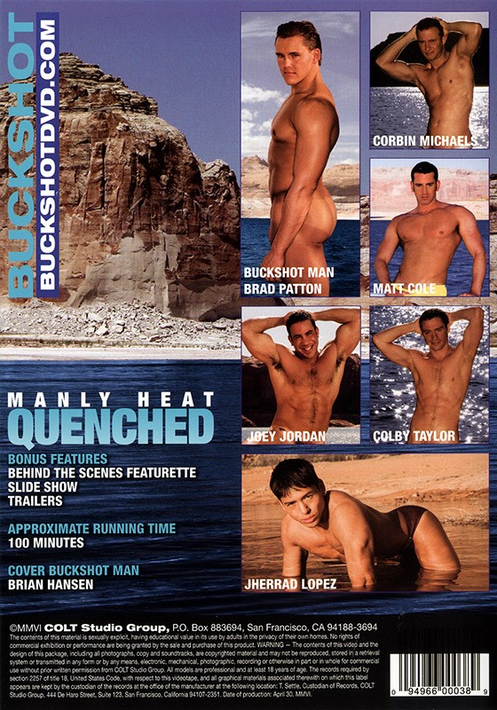 Manly Heat: Quenched DVD - Back