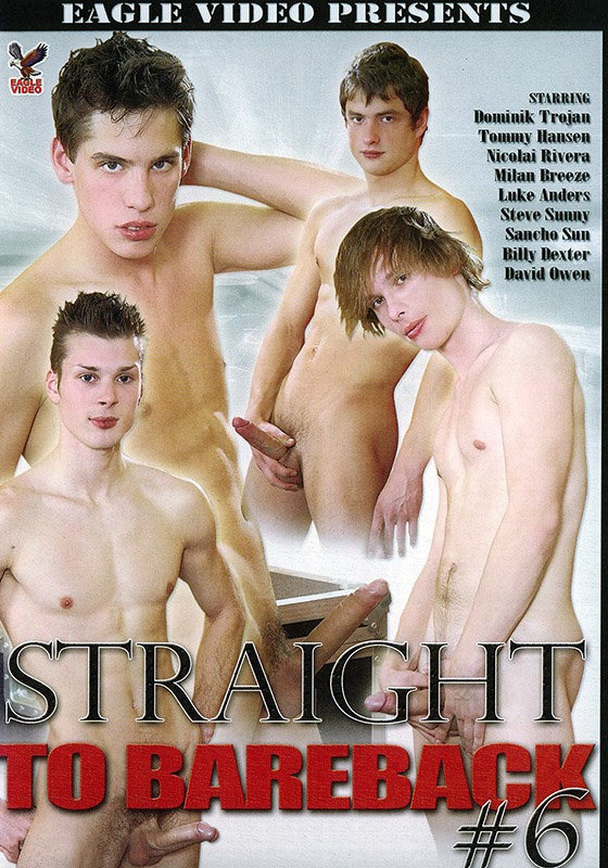 Straight to Bareback 6 DVD - Front