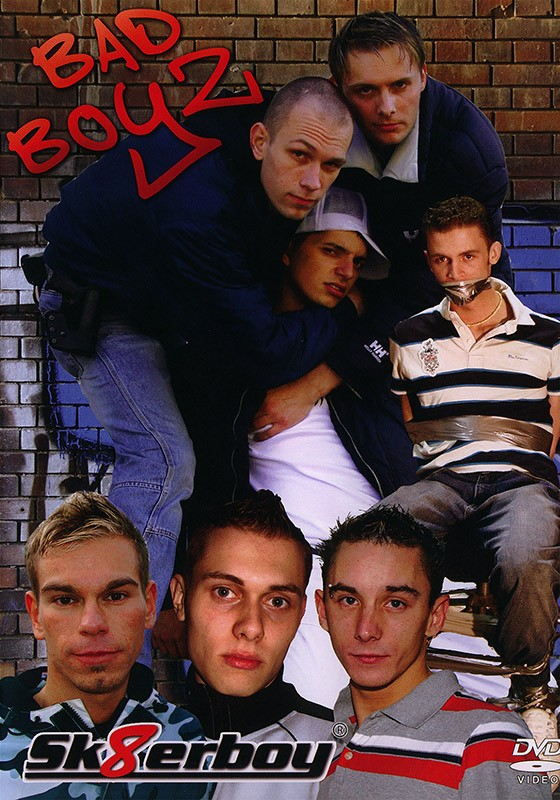 Bad Boyz DVD - Front