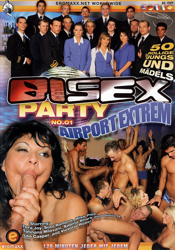 Bi Sex Party 1: Airport Extrem DVD - Front