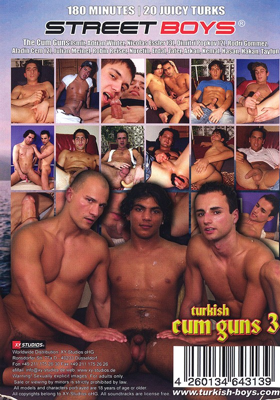 Turkish Cum Guns 3 DVD - Back