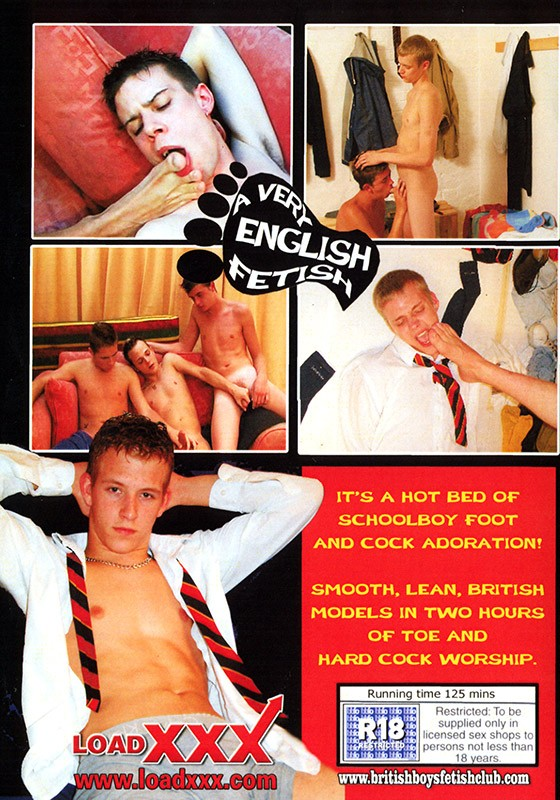 A Very English Fetish DVD - Back