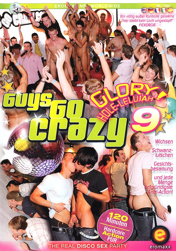 Guys Go Crazy 9: Glory Hole-Lelujah! DVD - Front