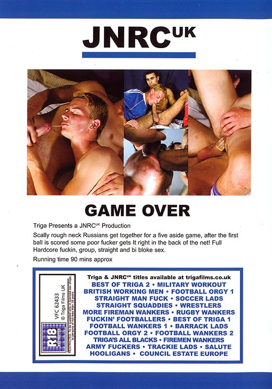 Game Over DVD - Back