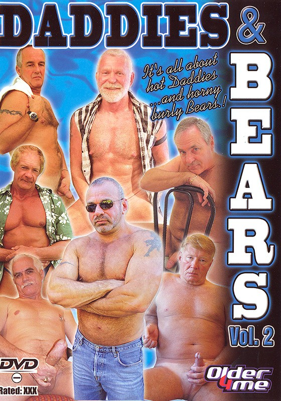 Daddies & Bears volume 2 DVD - Front
