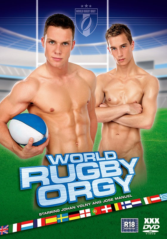 World Rugby Orgy DVD - Front