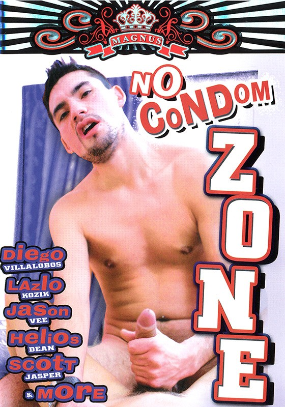 No Condom Zone DVD - Front