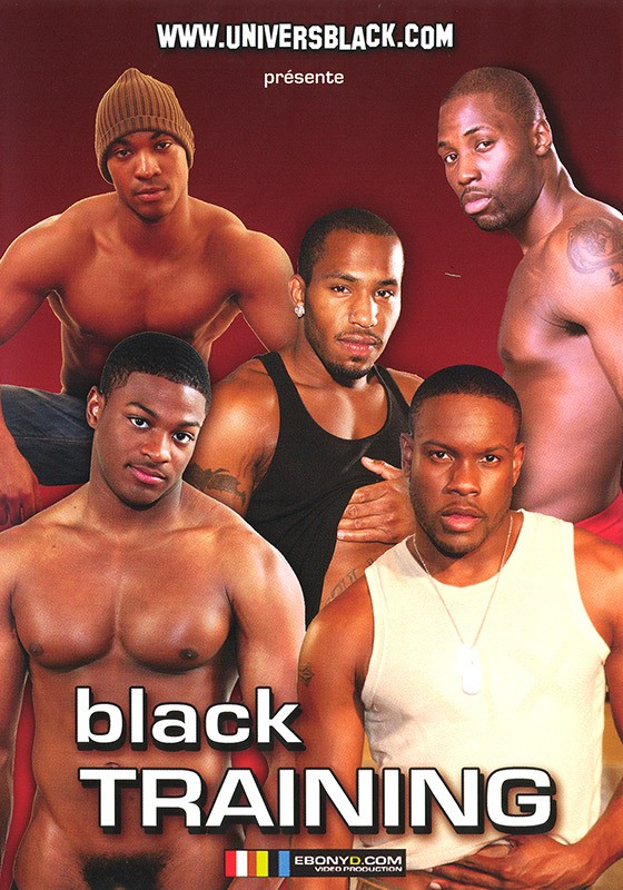 Black Training DVD - Front