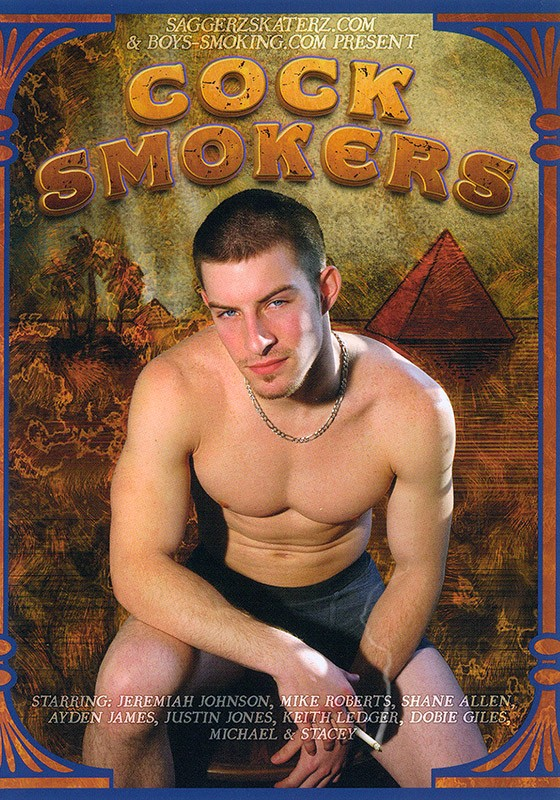 Cock Smokers DVD - Front