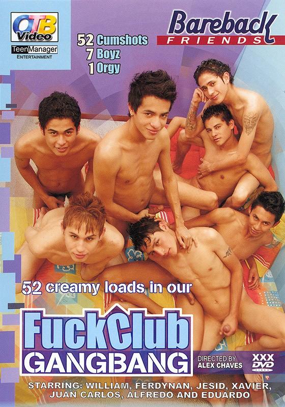 Fuck Club GangBang DVD - Front