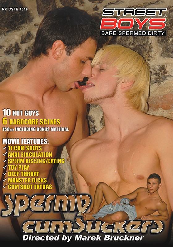 Spermy Cumsuckers DVD - Front
