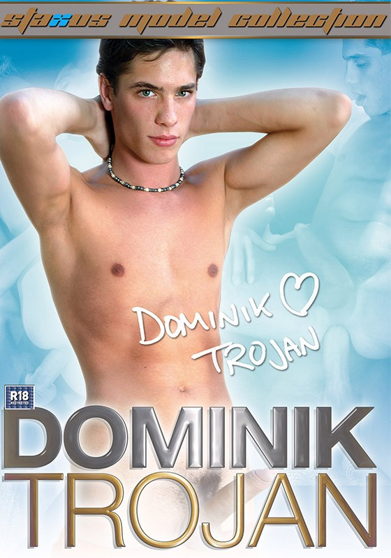 Staxus Model Collection 08: Dominik Trojan DVD - Front