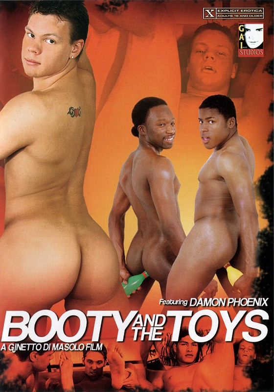 Booty and the Toys DVD - Front