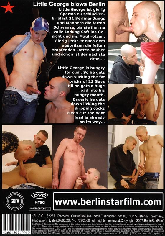 Little George Blows Berlin DVD - Back