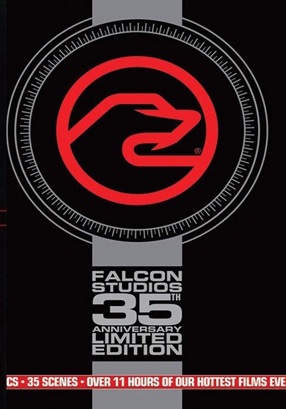 Falcon 35th Anniversary Box Set DVD - Front