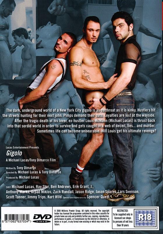 Gigolo DVD - Back